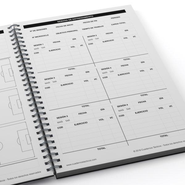 Cuaderno Táctico Planificación Fútbol 11 - 2