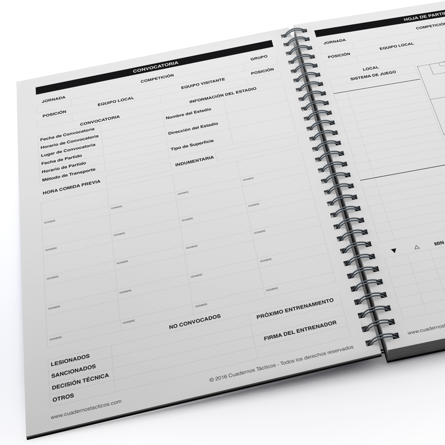 Cuaderno Táctico Planificación Fútbol 11 - 4