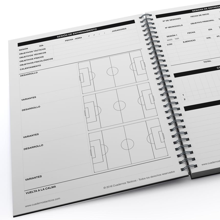 Cuaderno Táctico Planificación Fútbol 7 - 2