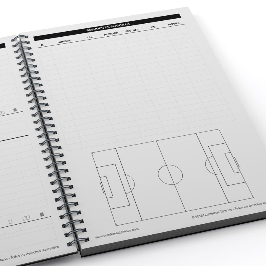 Cuaderno Táctico Planificación Fútbol 7 - 4