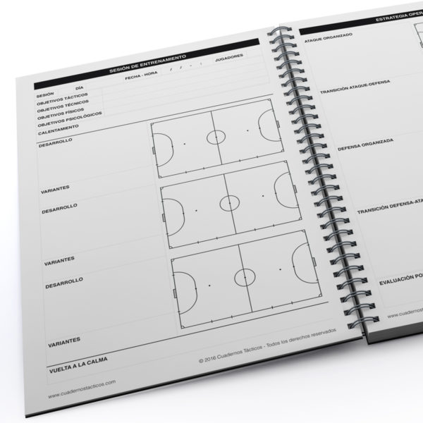 Cuaderno Táctico Planificación Fútbol Sala - 2