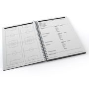 Cuaderno Táctico Sesiones de Entrenamiento Fútbol 11 – 2
