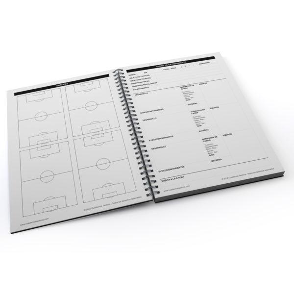 Cuaderno Táctico Sesiones de Entrenamiento Fútbol 11 - 2