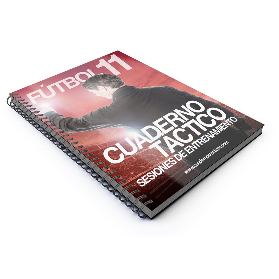 Cuaderno Táctico Sesiones de Entrenamiento Fútbol 11