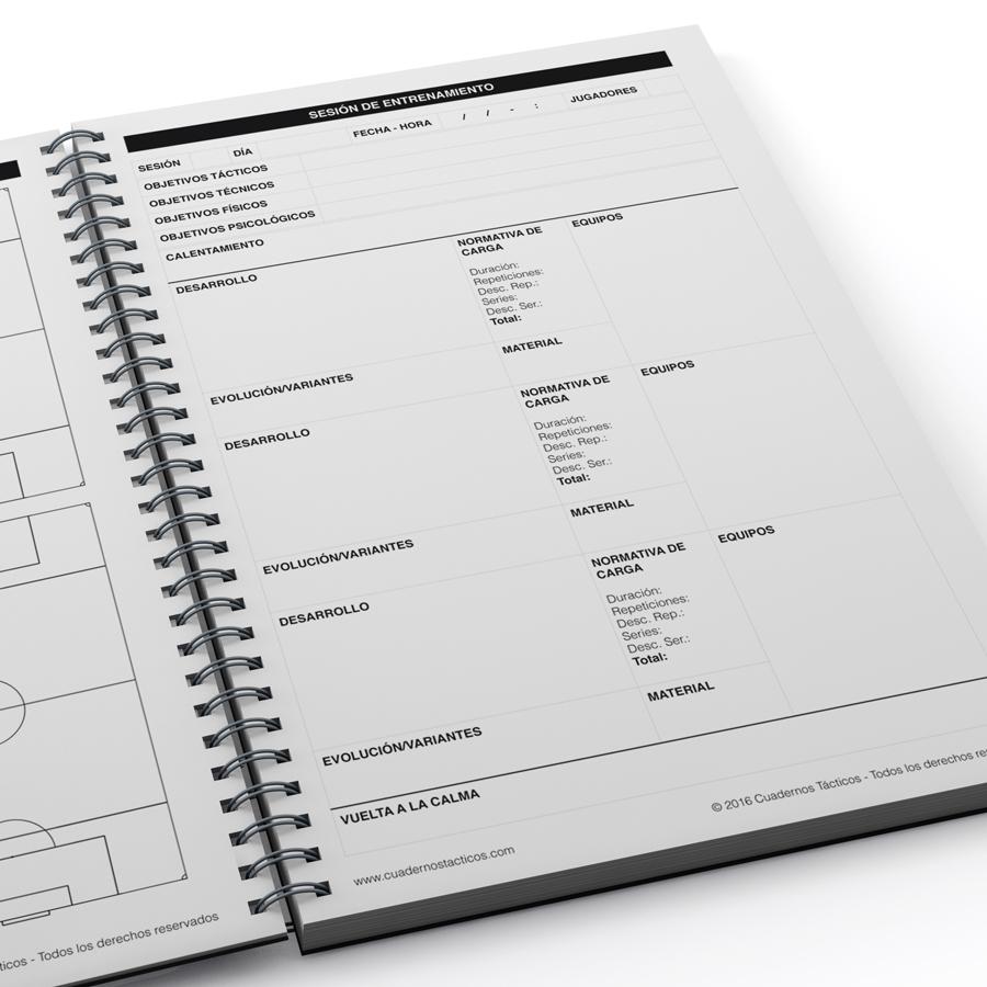 Cuaderno Táctico - Sesiones de Entrenamiento Fútbol 7 - 4