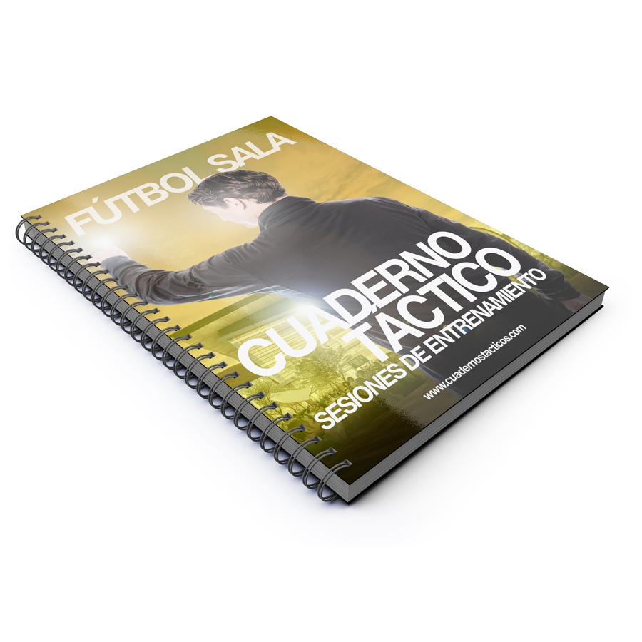 Cuaderno Tactico Sesiones de Entrenamiento Fútbol Sala – 1