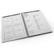 Cuaderno Tactico Sesiones de Entrenamiento Fútbol Sala – 2