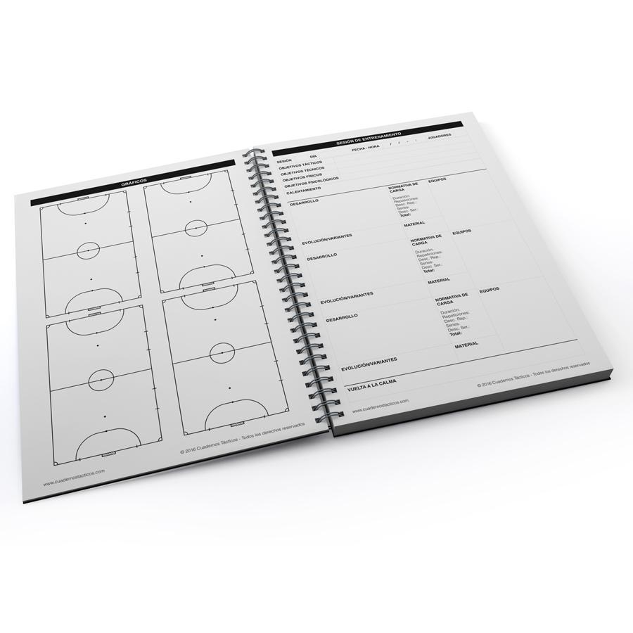 Cuaderno Tactico Sesiones de Entrenamiento Fútbol Sala - 2